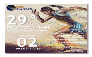 BEST WOMAN 2018 - Trofeo LSG SKY CHEFS - Iscrizioni fino al 23 novembre